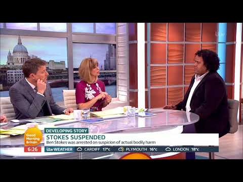connectYoutube - Ben Stokes is Suspended by ECB Until Further Notice | Good Morning Britain