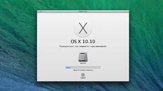 Partition your hard drive to install the OS X Yosemite Beta