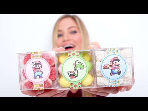 Nintendo Candy Taste Test!