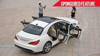 Mercedes Benz CLA | Beauty & Brains | Sponsored Feature