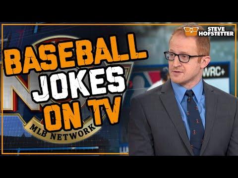 connectYoutube - Stand-up comedian tells baseball jokes on MLB Network (Part 5) - Steve Hofstetter