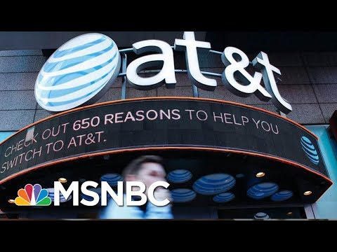 Is The DOJ's Move To Block AT&T-Time Warner Merger Political? | Velshi & Ruhle | MSNBC