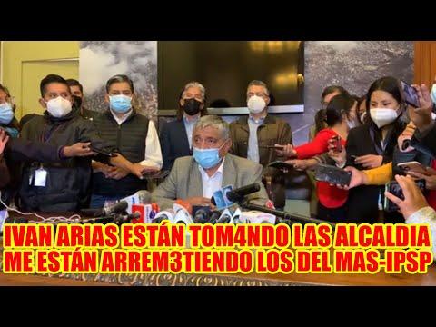 IVAN ARIAS SE PRONUNCIÓ POR LA NOTIFIC4CIÓN VOY A DAR LA CARA MANIF3STO DE ALCALDE DE LA PAZ..