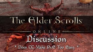 Does CC Make ESO PvE Too Easy? (Elder Scrolls Online)