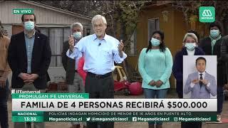 Presidente Piñera promulga el IFE Universal: