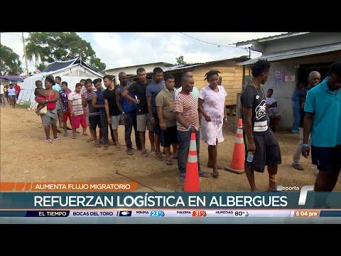 Aumenta flujo migratorio, Panamá refuerza logística en albergues