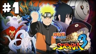 Naruto Shippuden Ultimate Ninja Storm 3 Walkthrough - Prologue Nine Tails Attacks!
