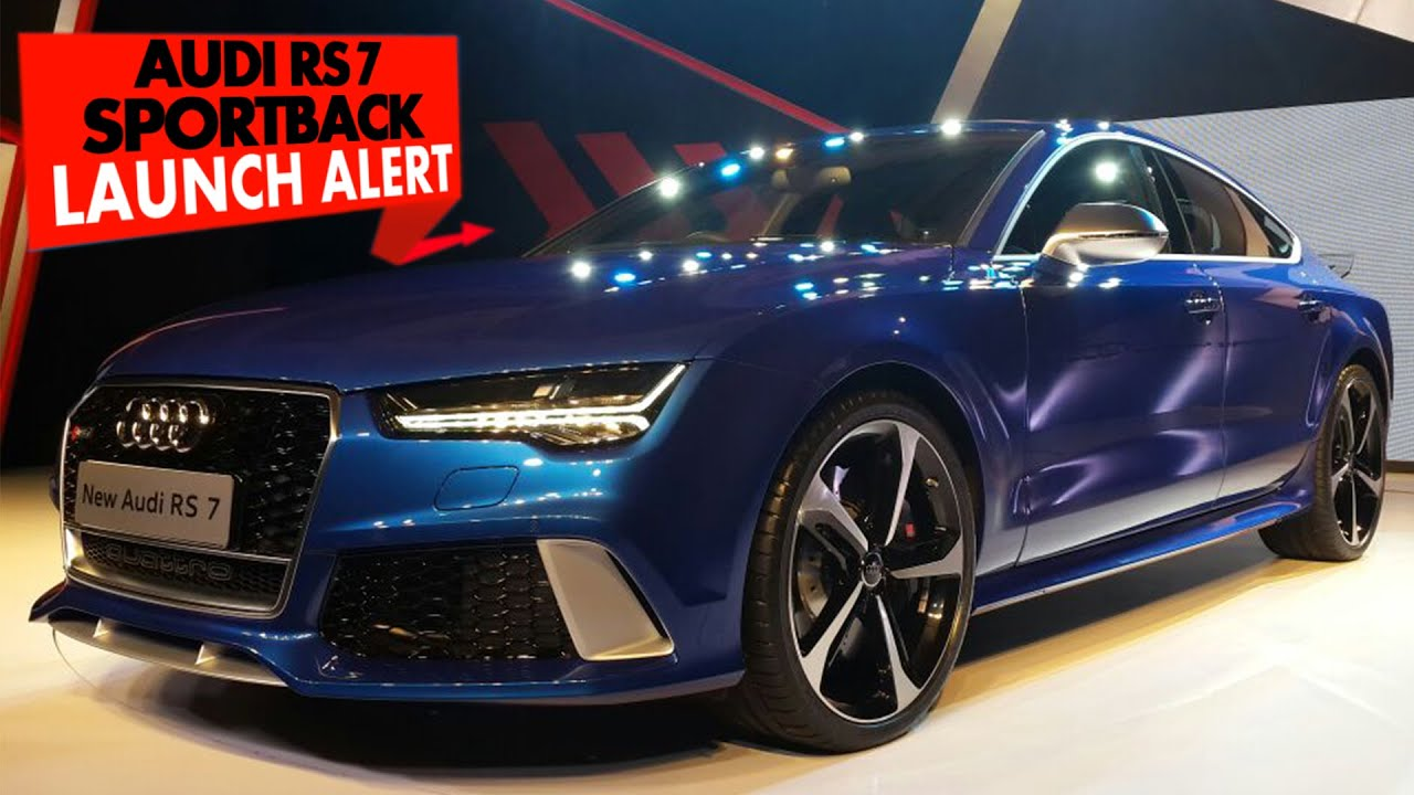Launch Alert: Audi RS7 Sportback : PowerDrift
