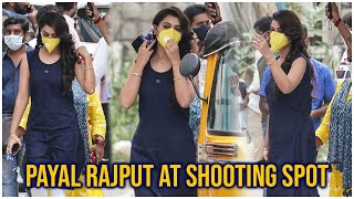 Actress Payal Rajput Exclusive Visuals At Movie Shooting Spot | Latest Tollywood News | TFPC - TFPC