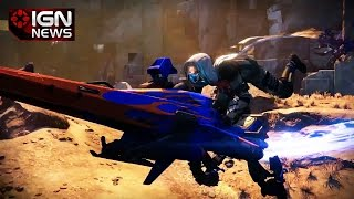 New Sparrow Vehicle Coming to Destiny - IGN News