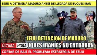 EEUU atacara a Maduro para evitar conflicto naval con Iran