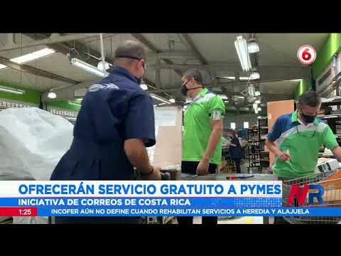 Correos de Costa Rica ofrecerá servicio gratuito a PYMES