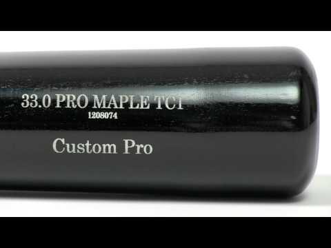 Old Hickory Bat Co. Custom Pro Maple Wood Bat: TC1 Adult