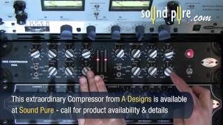 Nail Stereo Compressor HM2 - A Designs - Parallel Compression Demo Video