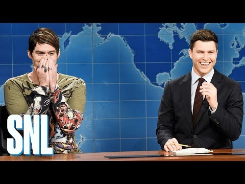 connectYoutube - Weekend Update: Stefon on St. Patrick's Day - SNL