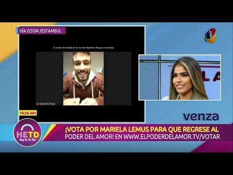 HOY ES TU DÍA | En exclusiva, entrevista con Mariela y Alejandro