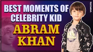 Abram Khan I Best moments of celebrity kid Abram Khan I Shahrukh Khan I TellyChakkar - TELLYCHAKKAR