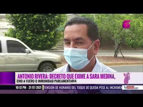 Diputados niegan que el decreto que favorece a Sara Medina sea un Blindaje