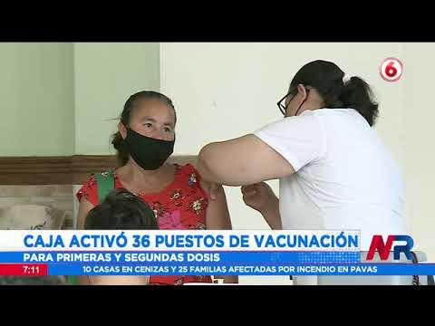 Alajuelita tendrá vacunación casa por casa este fin de semana