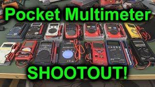 EEVblog #1083 - Pocket Multimeter Shootout