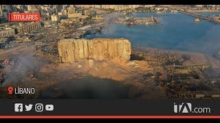Ecuatorianos en Líbano narran sus historias tras fuerte explosión
