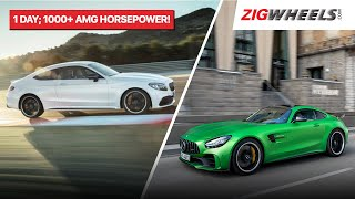 ZigFF: Mercedes-AMG C 63, GT R Launched In India | 1061 Horsepower, 4 Crores Of Extreme Performance!