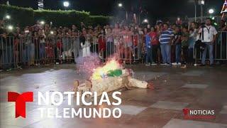En México queman las