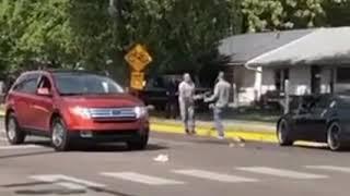 مضاربة بالعصي بين سائقين بعد خلاف بينهم