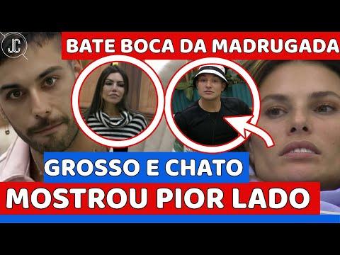 Gui Araújo MOSTRA PIOR LADO, dá PATADA em Érika; Dayane Mello RECLAMA e SE ESTRANHA com MC Gui