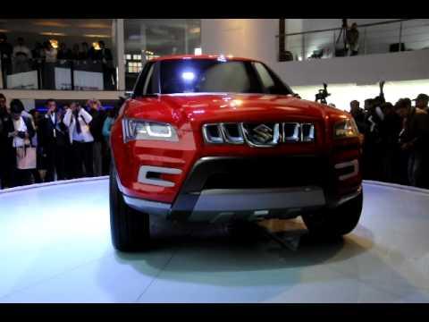 Auto Expo 2012: Maruti's XA Alpha compact SUV concept unveiled