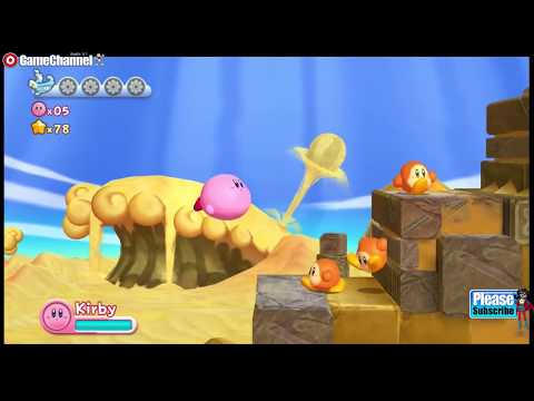 connectYoutube - Kirby's Return to Dream Land Nintendo Wii Adventure Kids Platform Games #4