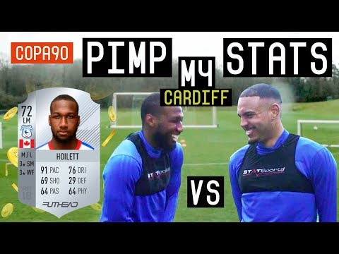 CARDIFF CITY FC PIMP MY STATS! Ft Junior Hoilett and Kenneth Zohore