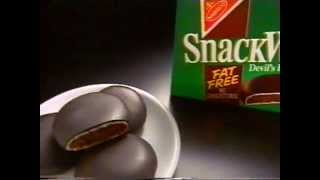 Snackwells Cookies ad 1993