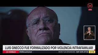 Formalizan al actor Luis Gnecco por violencia intrafamiliar