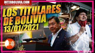 ???? LOS TITULARES DE BOLIVIA ????????  13 DE ENERO 2021 [ NOTICIAS DE BOLIVIA ] EDICIÓN NARRADA ????