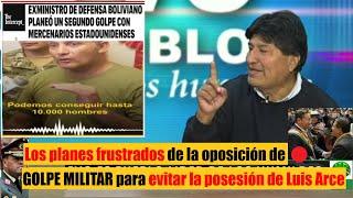 Evo Morales habla de los planes que tenia la oposición de Golpe Militar para evitar posesión de Arce
