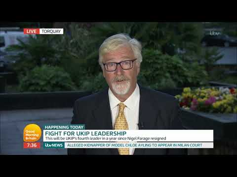 connectYoutube - Steve Crowther Praises UKIP's Progress | Good Morning Britain