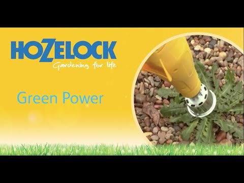 Hozelock 28-4185 Greenpower Evolution el-ogräsbrännare