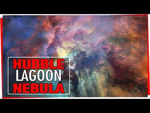 HUBBLE 28th Anniversary - A view of the Lagoon Nebula