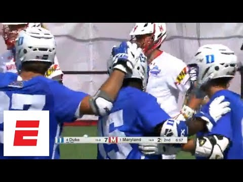 No. 4 Duke knocks off defending champion No. 1 Maryland in NCAA men's lacrosse semifinals | ESPN