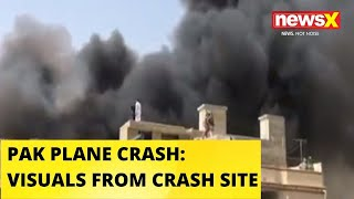 PIA AIRLINER CRASHES IN KARACHI: MORE THAN 100 FEARED DEAD | NewsX - NEWSXLIVE