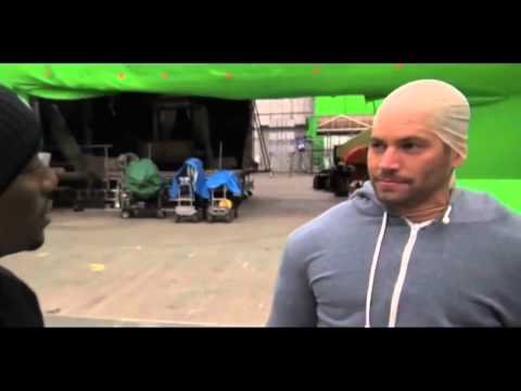 connectYoutube - LOL: Paul Walker Imitates Vin Diesel On The Set Of 'Fast & Furious':