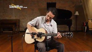 Goodall Master Italian/Honduran RW Parlor Acoustic #6662 Quick 'n' Dirty