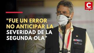 Coronavirus Perú: Francisco Sagasti admite errores en el manejo de la pandemia | ENTREVISTA