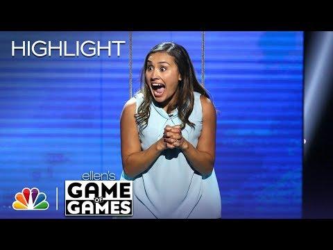 Ellen's Game of Games - Don't Leave Me Hanging: Episode 4 (Highlight)