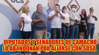 FERNANDO CAMACHO SE QU3DA SOLO DIPUTADOS Y SENADORES DE CREEMOS SE FU3RON CON OTRO CANDIDATO..