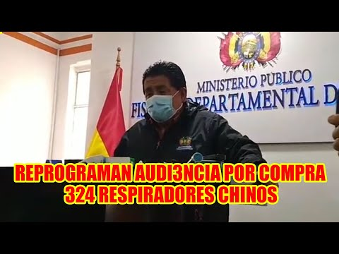 FISCAL MARCO VILLA  DE LA PAZ REPROGRAMA AUDIENCIA PARA EL 19 DE ABRIL DE EXMINISTRA EIDY ROCA