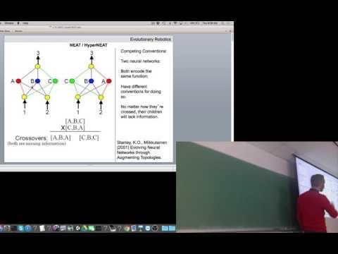 Lecture 15 of Evolutionary Robotics course at UVM (filmed Thurs Mar 23, 2017)