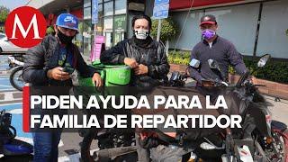 Muere atropellado repartidor de comida en Iztacalco