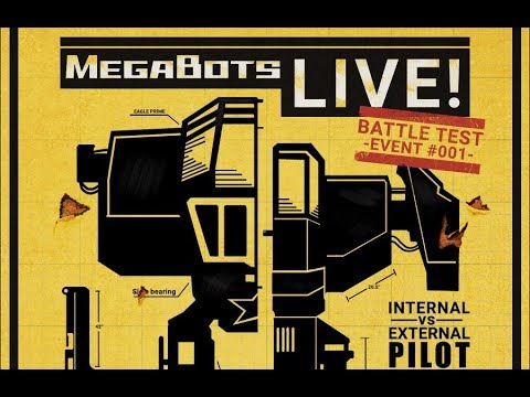 Announcing MegaBots LIVE! Testing a Giant Drill Weapon!